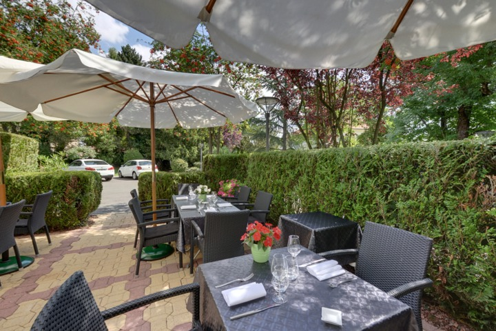 Restaurant le jardin de bellevue metz 57 for Jardin fabert metz