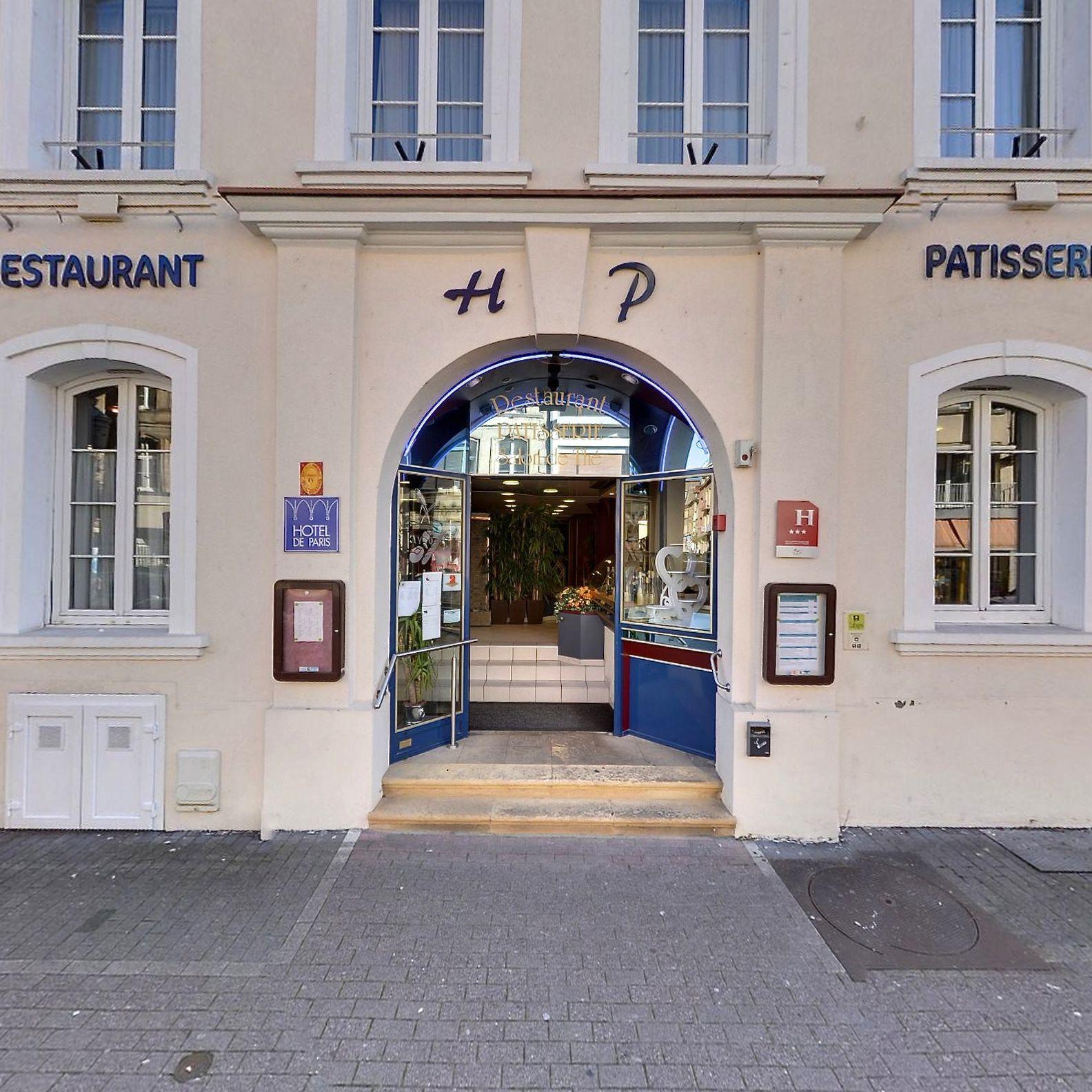hôtel***- restaurant de paris - saint avold (57)