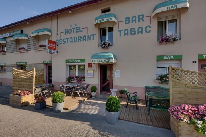 Hotel Restaurant Bel Air Marville